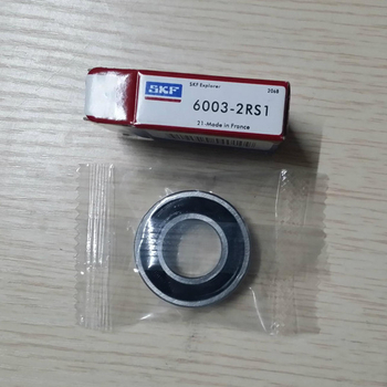 SKF bearing 6003 2RS1 sealed deep groove ball bearing - 17*35*10mm
