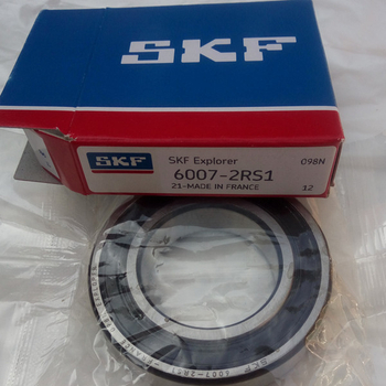 SKF 6007 2RS1 sealed single row deep groove ball bearing - China manufacturer