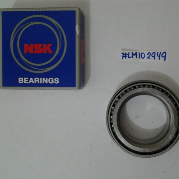 Original NSK tapered roller bearing LM102949/10 - 45.242*73.431*19.558mm