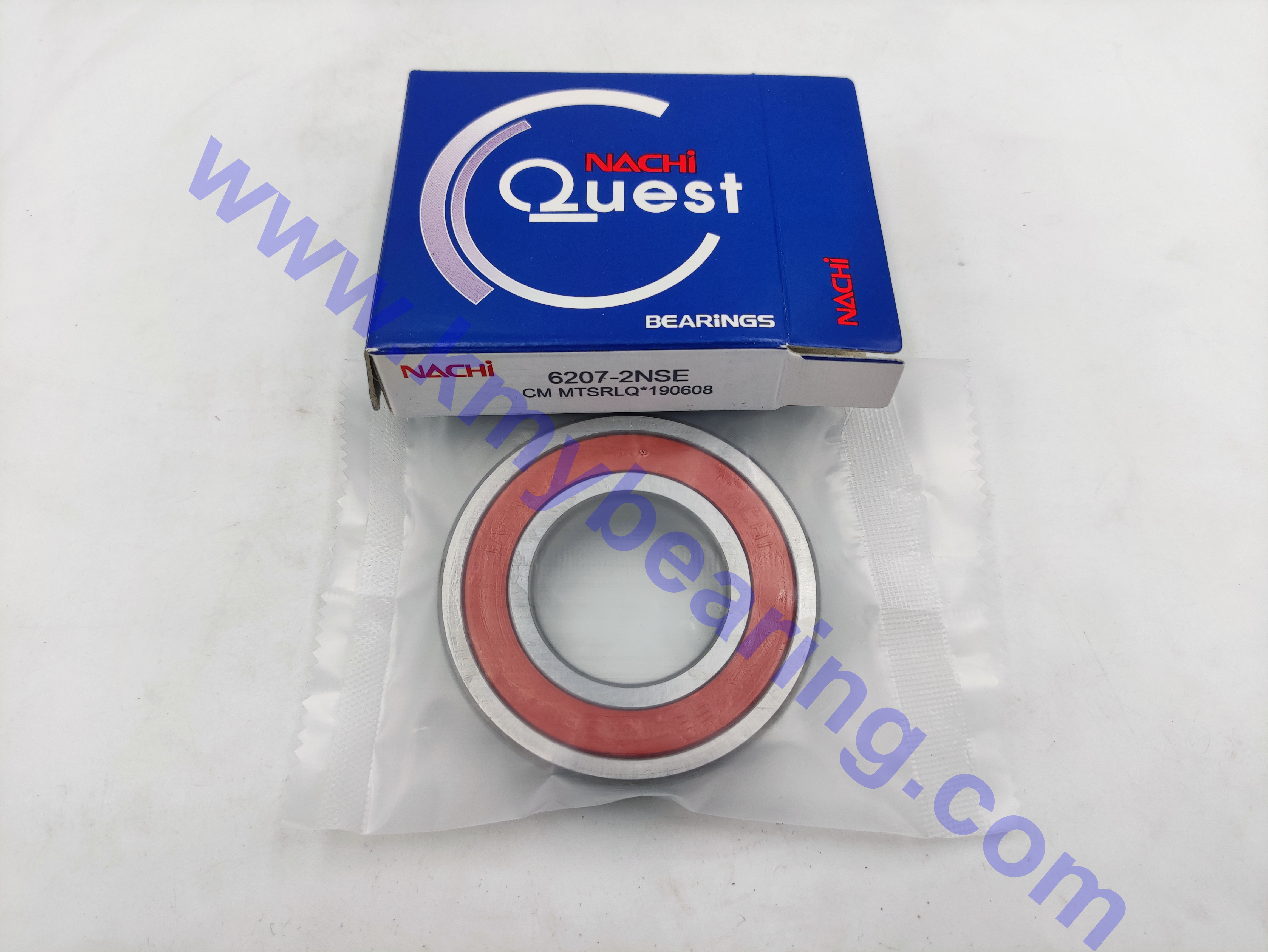 NACHI Deep Groove Ball Bearing 6007-2NSE with Double-sided adhesive cover sealing ring