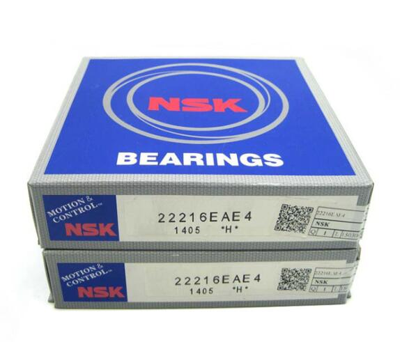 22216 NSK Water Cutting Machine Bearing Spherical Roller Bearing 22216